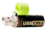 USB cell AA battery