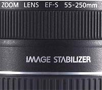 Image stabilized dslr lens