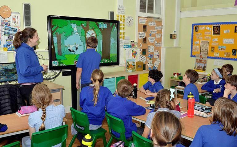 Clevertouch klaslokaal scherm