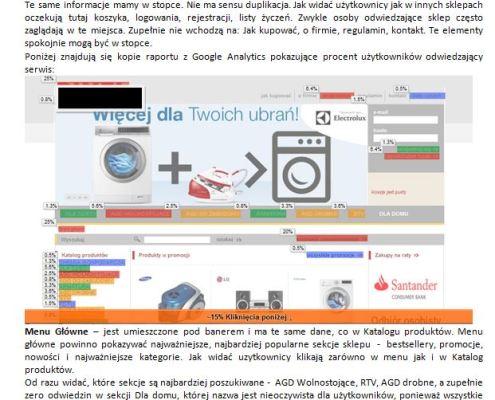 audyt ecommerce pixel sklep internetowy