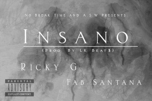 """Ricky G F/ Fab Santana (@santana_fab) - """"Insano"""""""