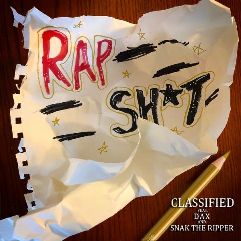"Classified (@classified) f/ Dax (@thatsdax) & Snak The Ripper (@SnakTheRipper) – ""Rap Shit"""