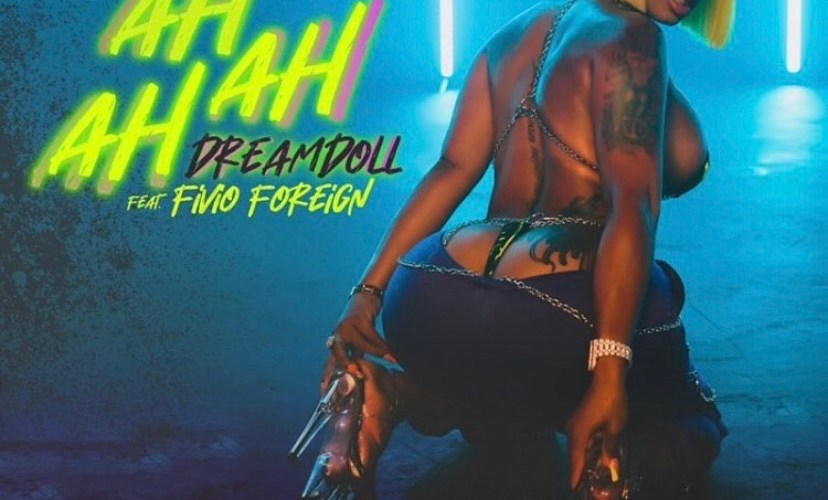 "DreamDoll (@dreamdoll) F/ Fivio Foreign (@FivioForeign) – ""Ah Ah Ah"" (Lyric Video)"