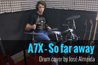 Avenged Sevenfold – So far away [Drum Cover]
