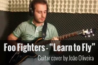 Foo Fighters – Learn to Fly [Guitar Cover] by João Oliveira