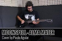 MOONSPELL – ALMA MATER – COVER POR PAULO AGUIAR
