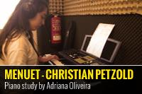 """""""MENUET"""" – CHRISTIAN PETZOLD- ESTUDO POR ADRIANA OLIVEIRA"""