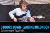 3 DOORS DOWN – LANDING IN LONDON – COVER POR TIAGO PEDRO