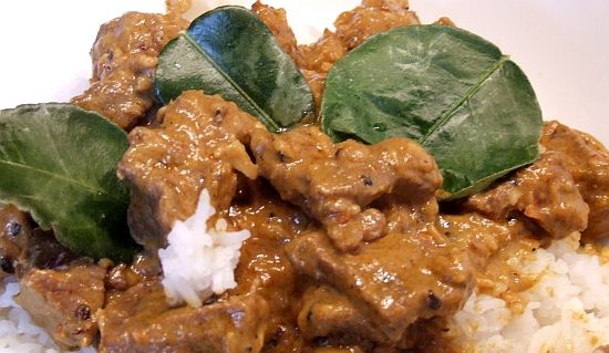 Malaysisches Curry mit Rind - Rendang Beef
