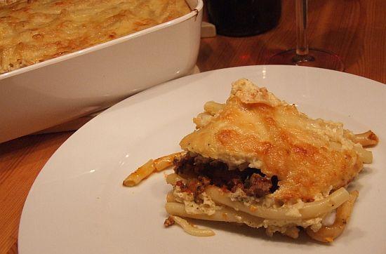 Foto: Portion griechisches Pastitio