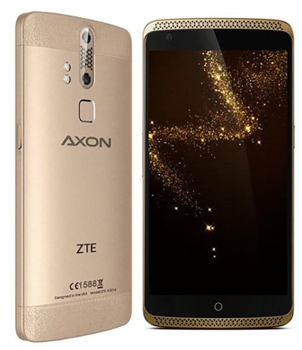 ZTE Axon Elite ZTE Blade X7 и ZTE Axon Watch получили
