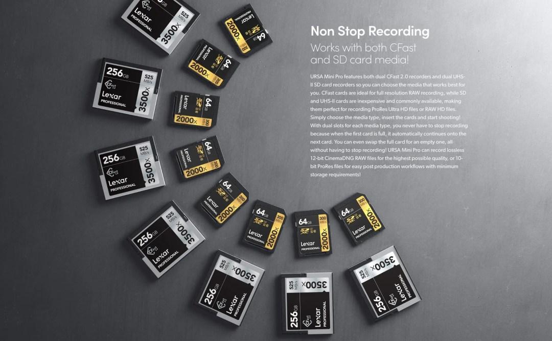 URSA Mini Pro 4.6K Non Stop Recording