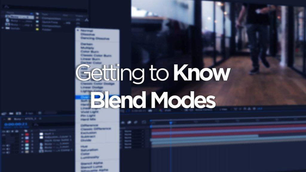Getting To Know Blend Modes