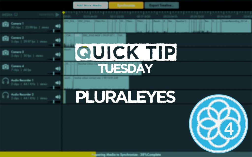 Sync Your Media With PluralEyes
