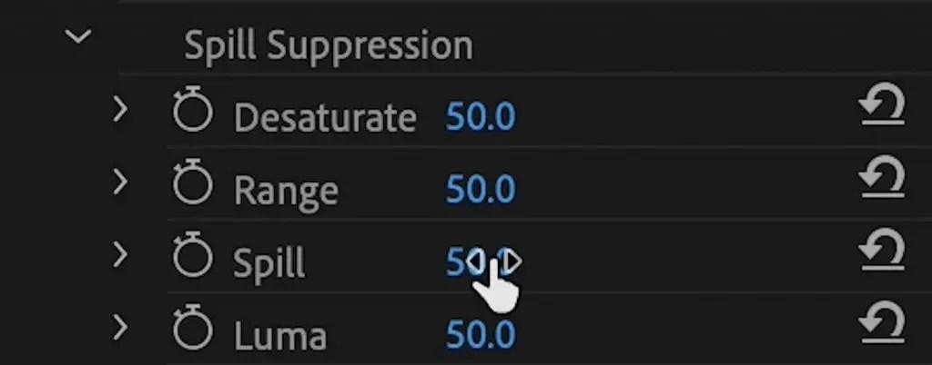 Ultra-Key-Spill-Suppression