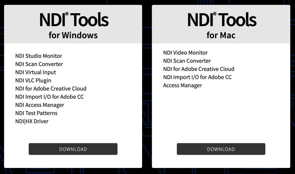 OBS NDI Tools