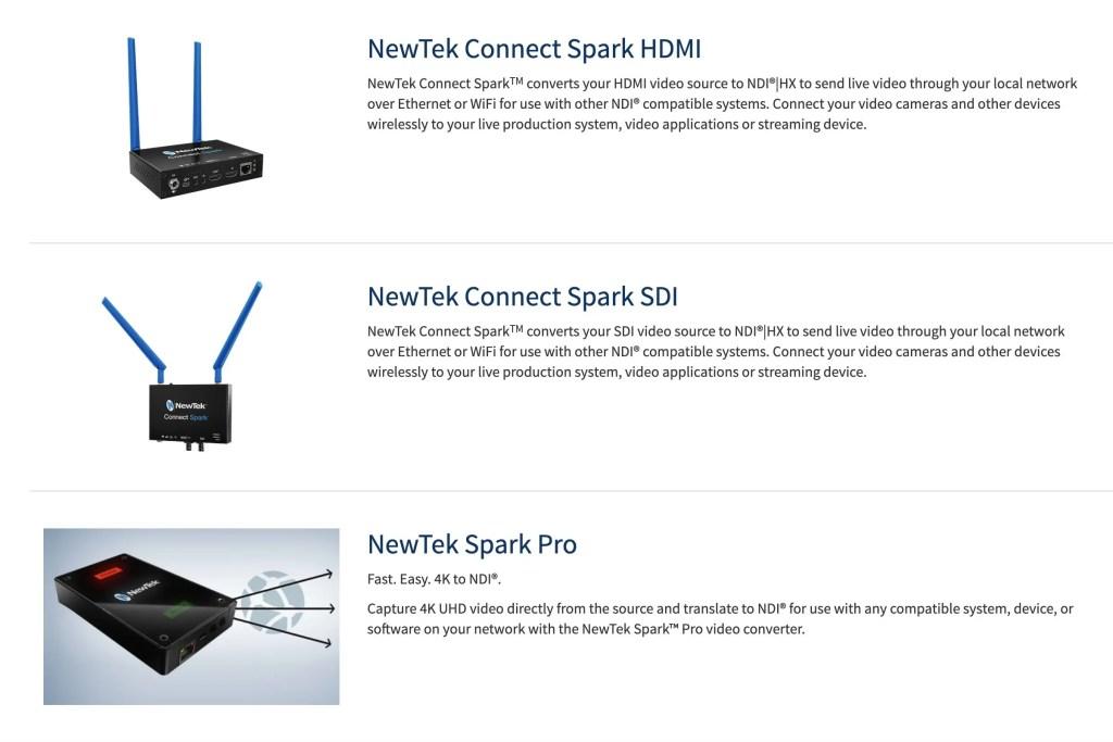 NewTek NDI Converters