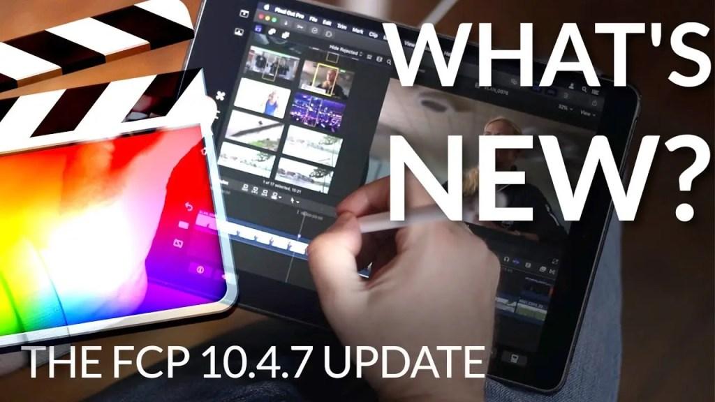 FCP X Update