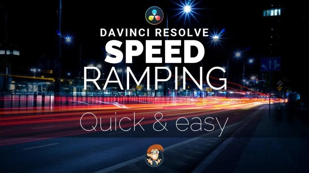 Resolve Speed Ramp