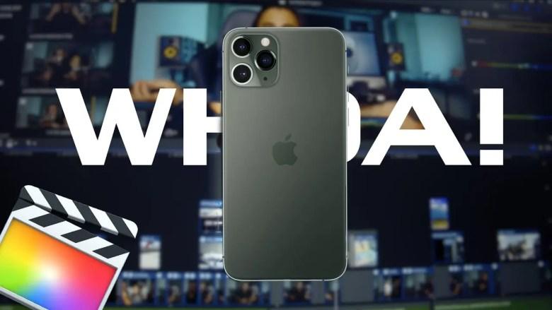 iPhone 11 & FCPX Thumb