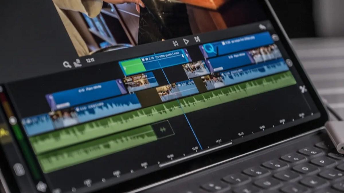 iPad Pro 4K video editing LumaFusion iPad Pro