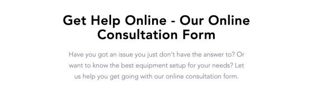 Audio Visual Consulting Services