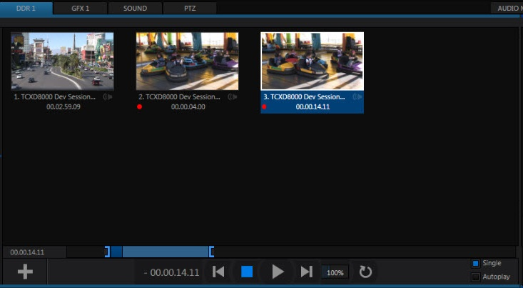 Tricaster DDRs