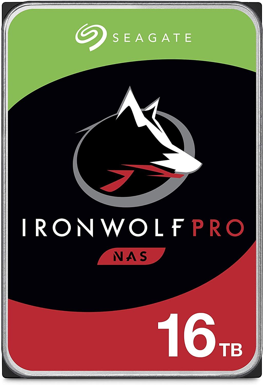 16TB IronWolf Pro - best nas hdd