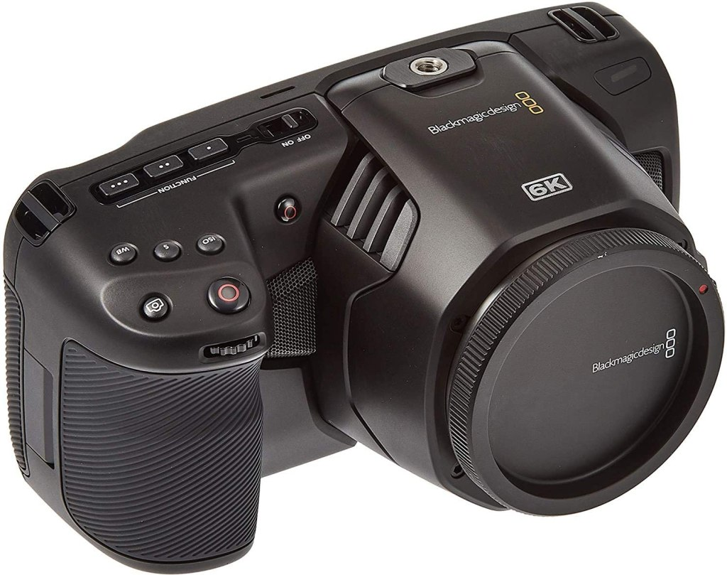 Blackmagic Design Pocket Cinema Camera 6K - Filmmaker Gifts