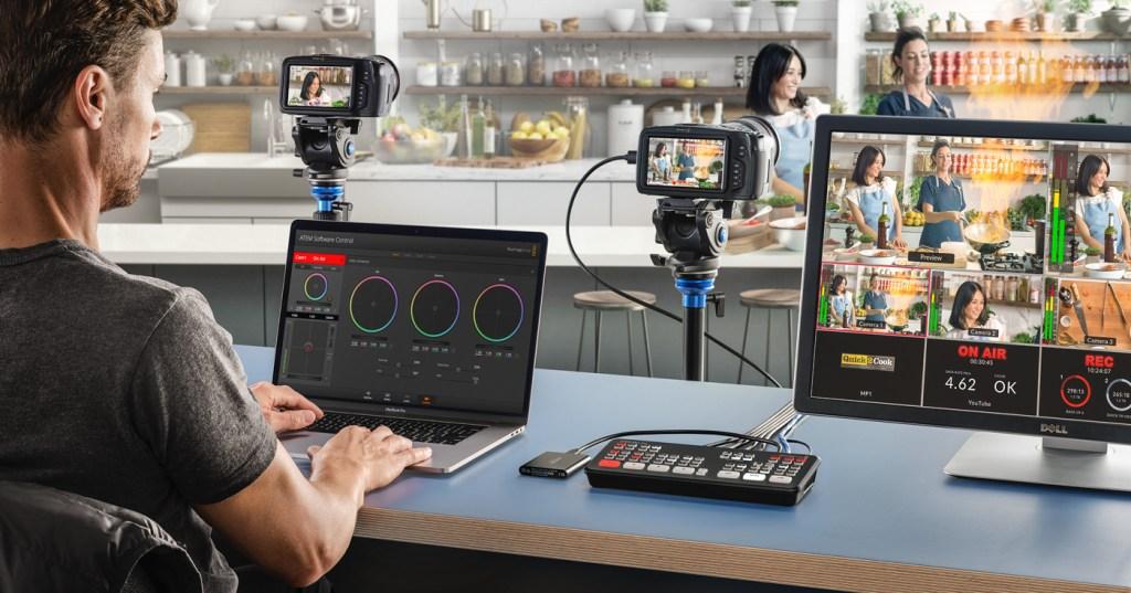 Vision Mixing on ATEM Mini - live video switcher
