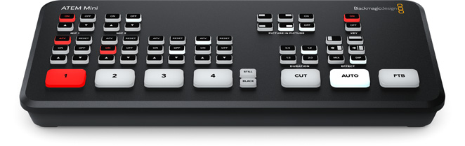 ATEM-Mini - blackmagic video switcher