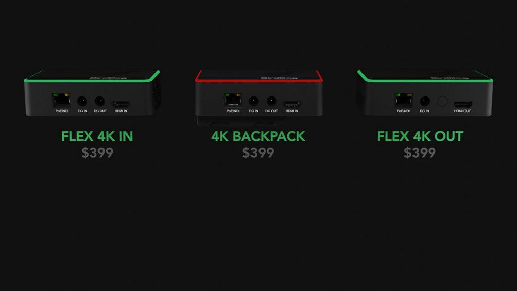 BirdDog 4K Flex Range HDMI to NDI converters