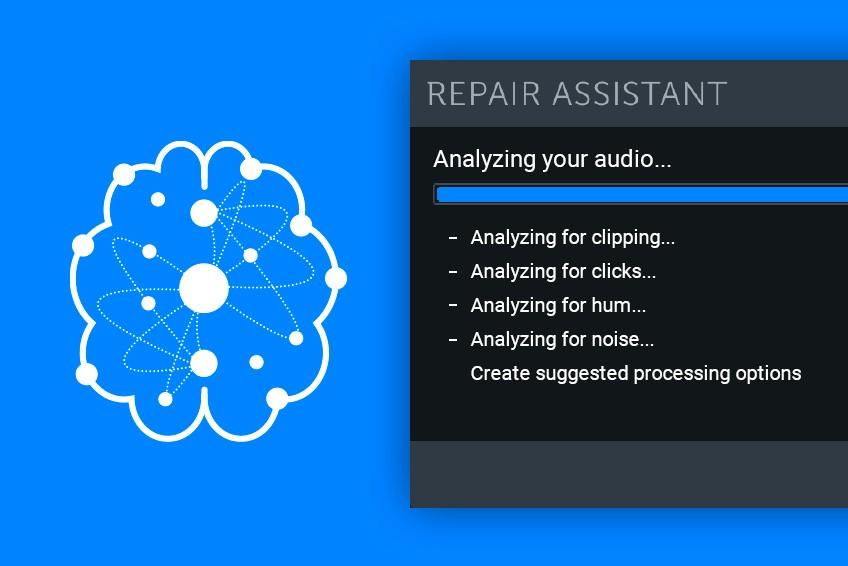 iZotope plugins Repair Assistant