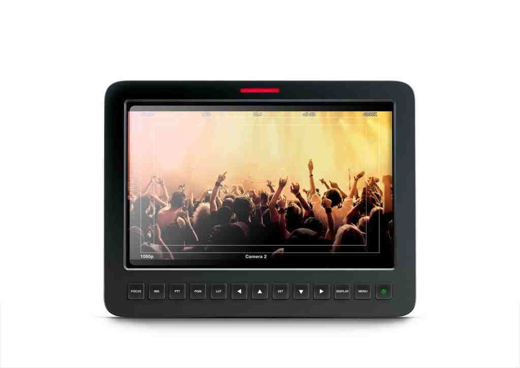 Blackmagic Studio Camera Screen