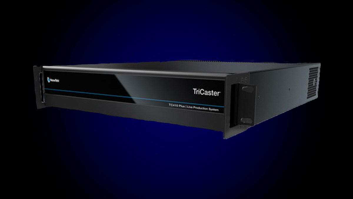 Tricaster-TC410-Plus - video switcher for streaming