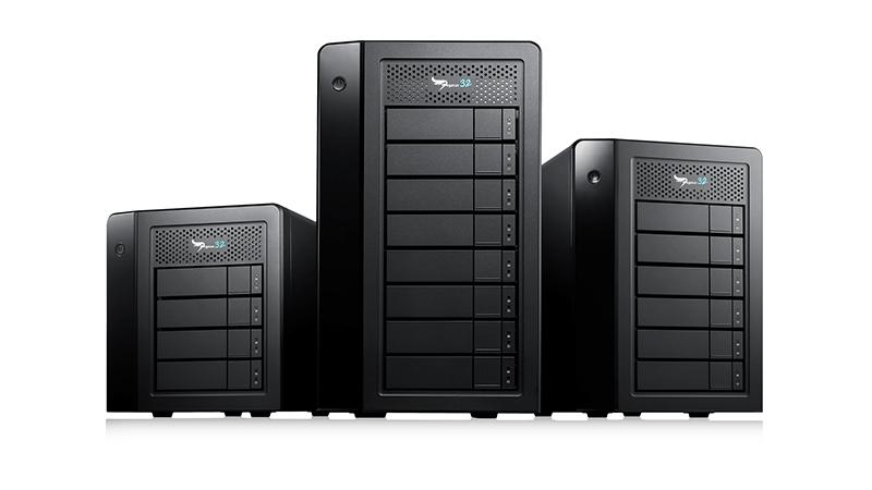 Promise Pegasus RAID Storage Lineup