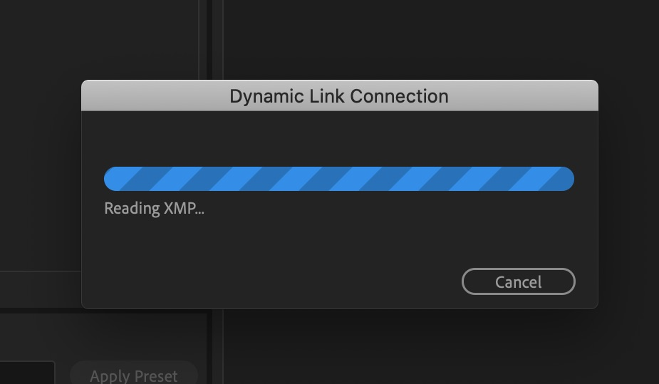 Adobe Dynamic Link - After Effects Export GIF