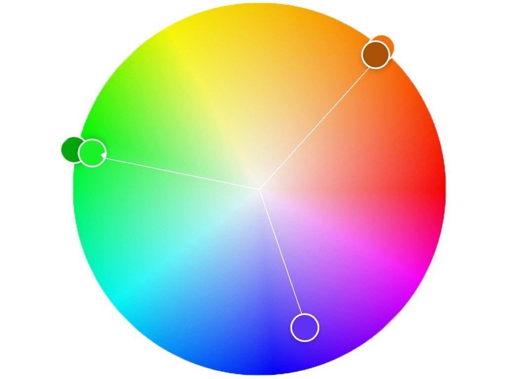 Adobe Colors color wheel