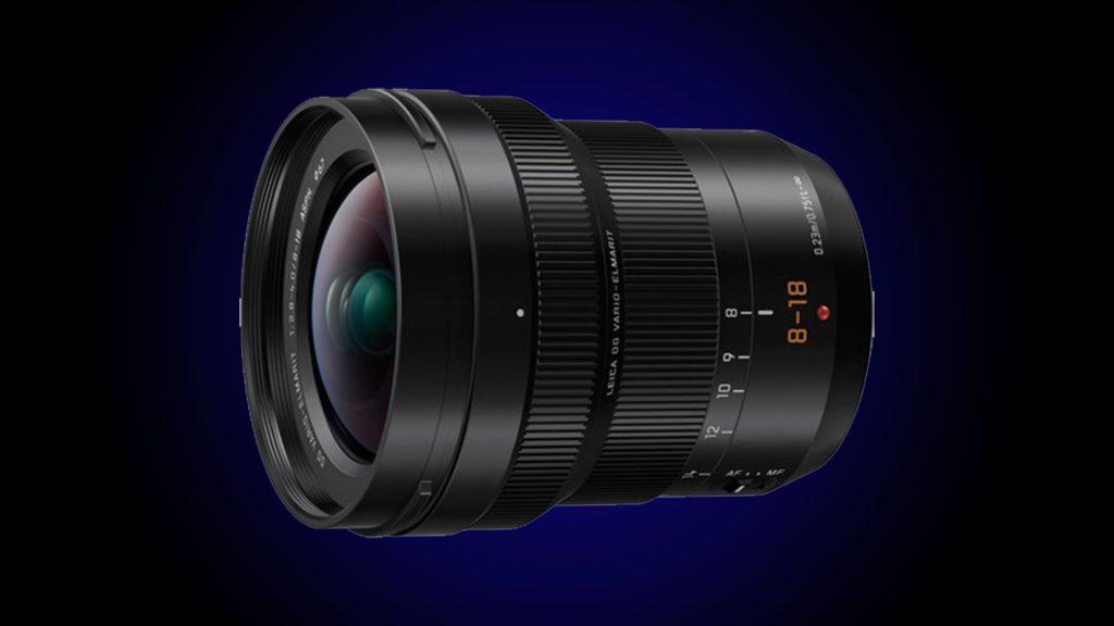 Panasonic Leica 8-18mm F2.8-4.0 Lens - best lens for blackmagic studio camera