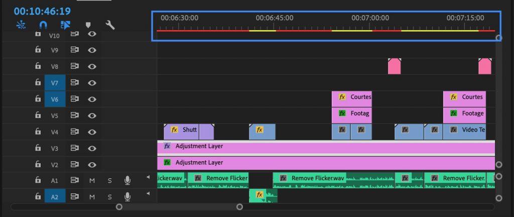 Render status - how to render video in premiere pro