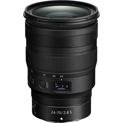 Nikon NIKKOR Z 24-70mm f/2.8 S Lens Black Friday Deal