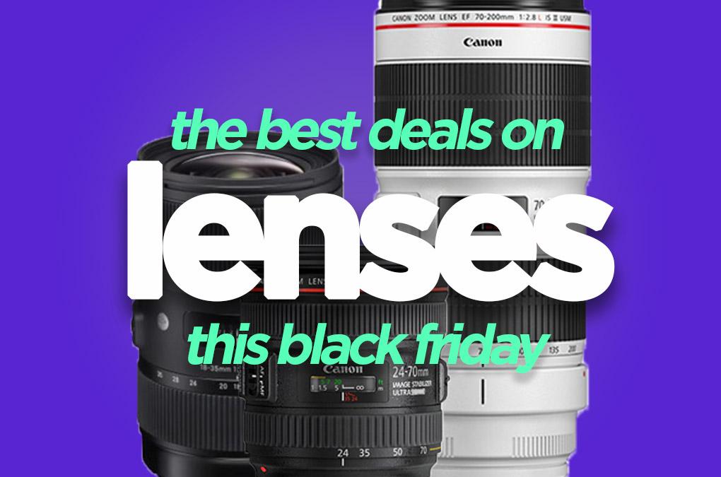 Best DSLR Lenses Black Friday Deal