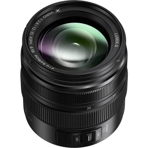 Panasonic Lumix G X Vario 12-35mm f/2.8 II ASPH. POWER O.I.S. Lens Black Friday Deal