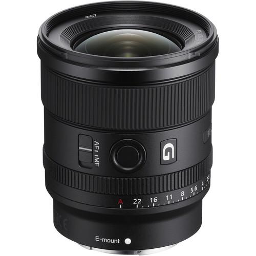 Sony FE 20mm f/1.8 G Lens Black Friday Deal