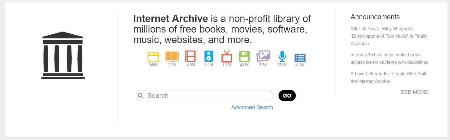 Die weltweit wichtigsten Websites (1): Internet Archive – die größte Fundgrube der digitalen Welt