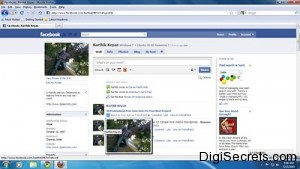 Facebook Zoom - Firefox