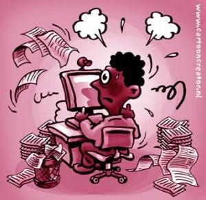Stress Affects Blogging