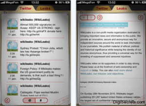 wikileaks for iphone