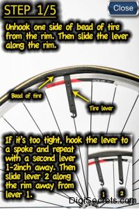 Biker App Steps