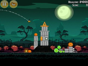Angry Birds Seasons - Halloween 2011